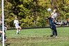 Providence #3 Leah Mattingly Scoring off a corner kick from #4 Jordan Reger.