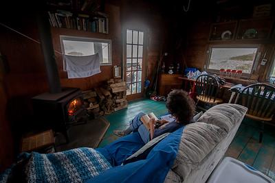 Fowler shack living room.
