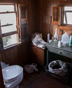 Fowler shack composting toilet.  This may be the plushest bathroom of any of the shacks.