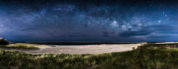 Milky Way over Chatham Lighthouse Beach