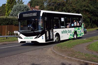 ADL E20D YX68 ULY is seen between Clandon & Send, Surrey.