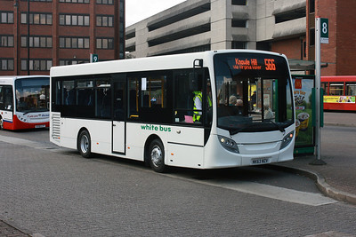 Z MK63 WZV at Staines Bus Station. (Loan Bus)