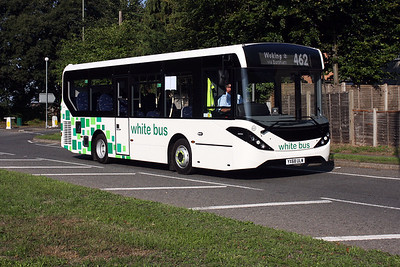 ADL E20D YX68 ULW on the Portsmouth Road, Send.