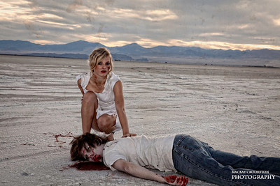 Zombies at the Salt Flats