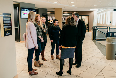 Jim Spain Interim Provost Traveling Office Hours Visit