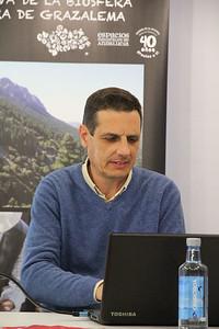 José María Sánchez, ponente sobre Diodoro Soto.
