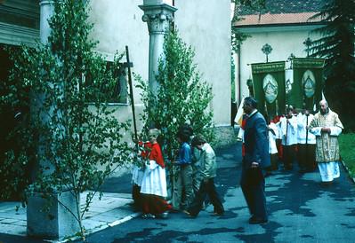 Prozessionen in Ma. Lankowitz- 1970/80?