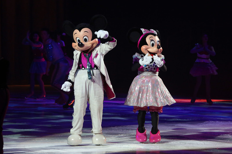 Disney on Ice presents Reach for the Stars at Prudential Center