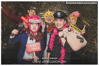 Prudential Client Appreciation | © www.SRSLYPhotobooth.sg