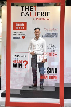 Prudential | The Gallerie Ha Noi Grand Opening instant print photo booth | Chụp hình in ảnh lấy liền Sự kiện Ra mắt văn phòng The Gallerie tại Hà Nội | Photobooth Ha Noi
