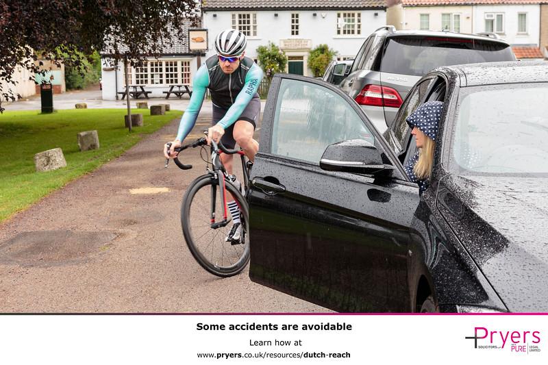 Spot the Bike: The Dutch Reach