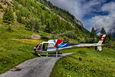 Air-Zermatt - Flight Day