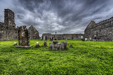 Clare Abbey - HDR