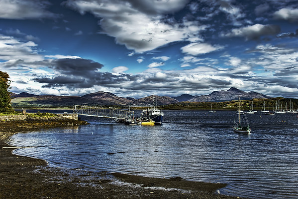 Near of Oban - Scotland