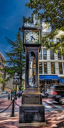 Gastown Steam Clock - HDR