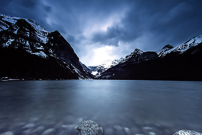 Lake Louise Long Exposure Shot