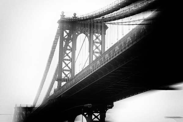 Manhattan Bridge (b/w)