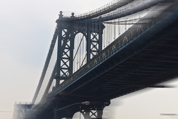 Manhattan Bridge (color)