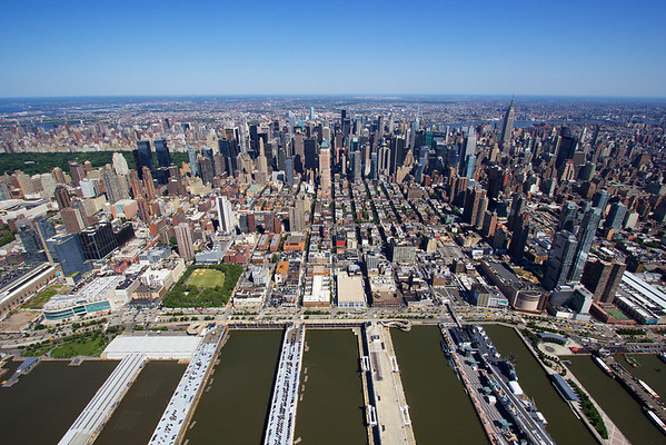 part of Manhattan,Harbor and Central Park @ skyview ...