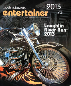 Made the cover of Laughlin River Run book for 2013, also had a dozen photos featured inside as well