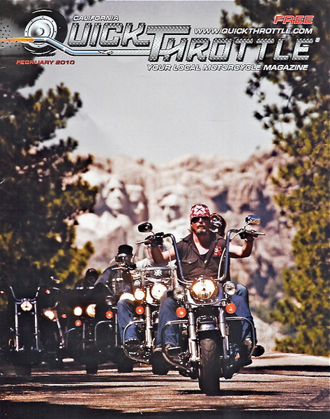 Feb 2010 Quick Throttle Magazine cover shot
