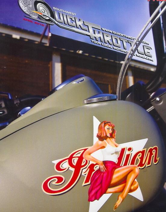 April 2010 Quick Throttle Magazine Cover Shot