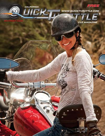 Nov 2009 Quick Throttle Cover shot