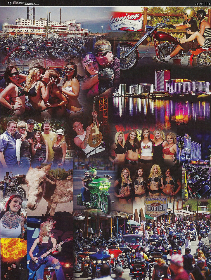 Laughlin River Run full page collage