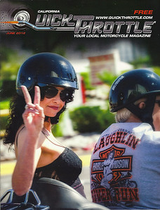 Quick Throttle Magazine cover June 2012