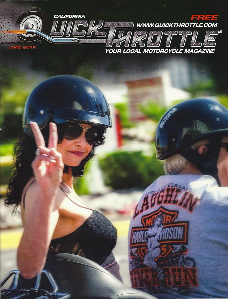 Quick Throttle Magazine cover June 2012