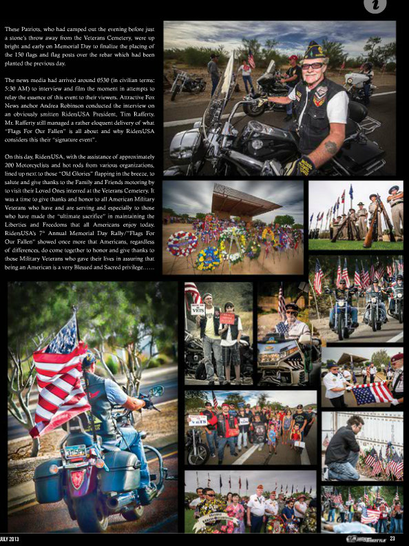 Two Pages of Main Event Photos used for the July 2013 Quick Throttle Magazine Memorial Day Feature Story - See more at: http://www.childress.com/#sthash.L6aEdqOV.dpuf