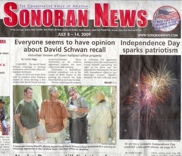 Sonoran News multi-page fireworks photo essay