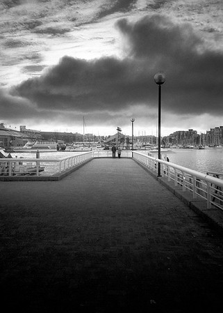 Pier Into The Storm