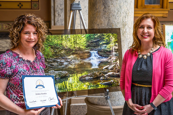 Falls of Spring with Treasurer of State Kelly Mitchell