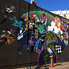 The mural, World on Whyte, by street artists Trevor Peters and Shane Berney, is an abstract collage of the landmarks, activities and culture Whyte Avenue is known for. September 27, 2012