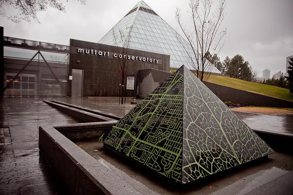 Muttart<br /> Mia Weinberg<br /> 2009<br /> Muttart Conservatory