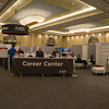 Career Center during Career Center