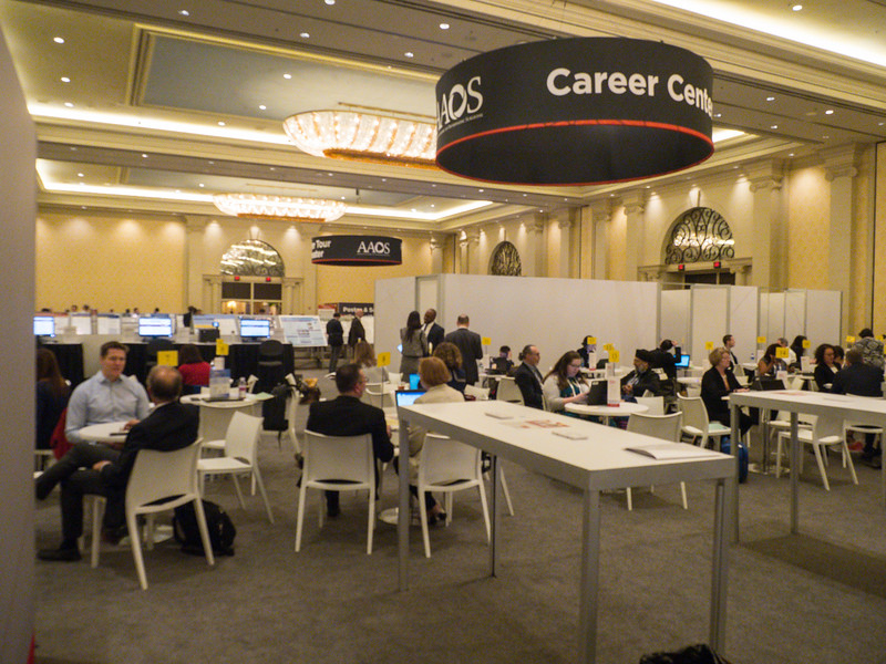 Career Center during Career Center