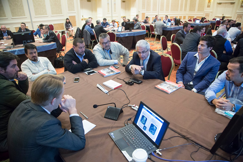 Speakers and attendees during 187 - Case Presentation: Knee Preservation Surgery in the Young Adult: A Case-Based Approach with United States and International Perspectives