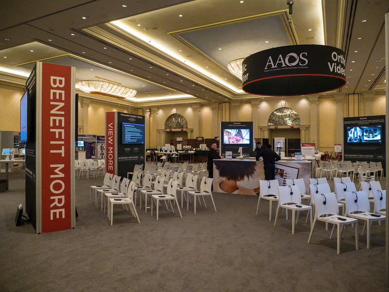Video Resource Center during AAOS Orthopaedic Video Theater