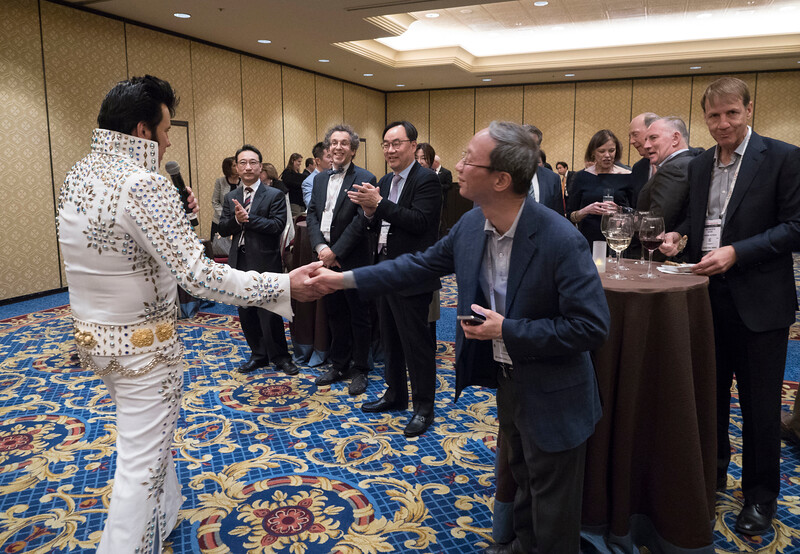 Attendees during Guest Nation Reception