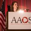 Lisa Cannada, MD, presents during Operative vs. Nonoperative Treatment of Isolated Humeral Shaft Fractures: A Prospective Cohort Study