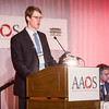 Daniel Austin, MD, presents during Reverse Total Shoulder Arthroplasty for Proximal Humerus Fractures in the Elderly Is Cost Effective for Both Payors and Hospitals Compared to Open Reduction and Internal Fixation