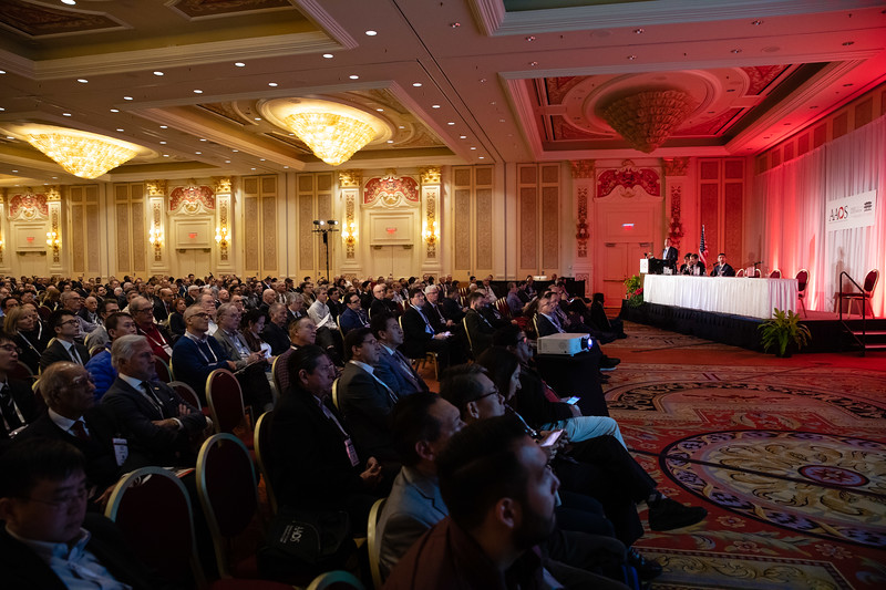 Speakers and Attendees during Symposium V (Annual Meeting Highlights)