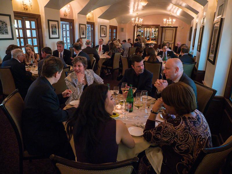 Board members during Board Dinner