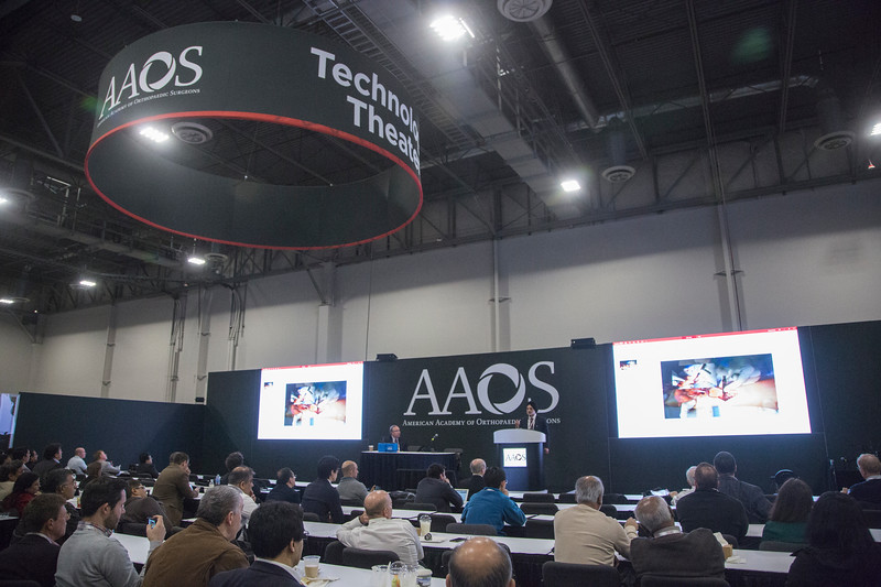 Speakers and Attendees during Technology Theater