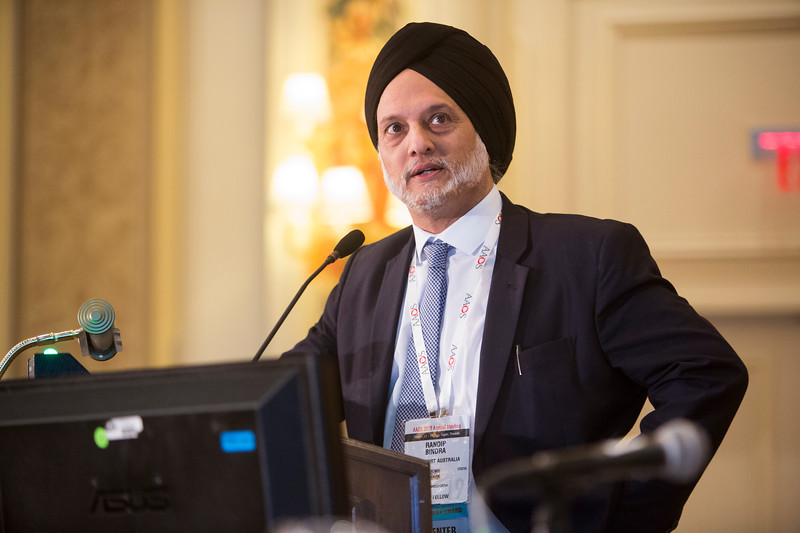 Randip Bindra presents on behalf of Richard Pellatt during Is Buddy Taping as Effective as Plaster Immobilization in Adults with an Uncomplicated Neck of Fifth Metacarpal Fracture? ?A Randomized Controlled Trial