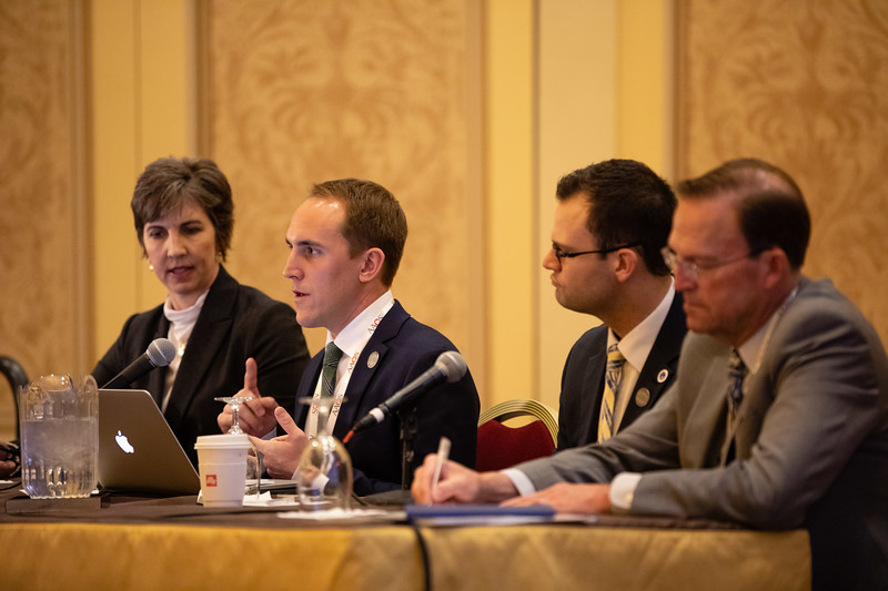 Speakers and Attendees during Resident Assembly Business Meeting