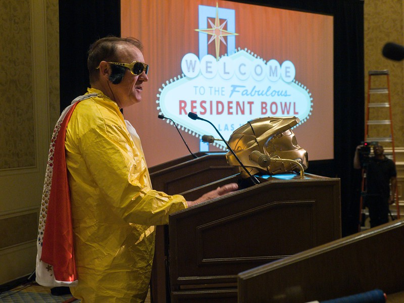Contestants during the Resident Bowl during Resident Bowl