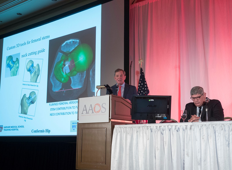 Speakers and attendees during Technology Applications for Arthroplasty: Moving the Field Forward?